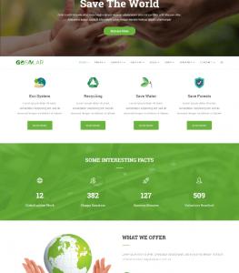 Eco Nature Environment WordPress Theme – Just another PREMIUM WORDPRESS THEMES Sites site