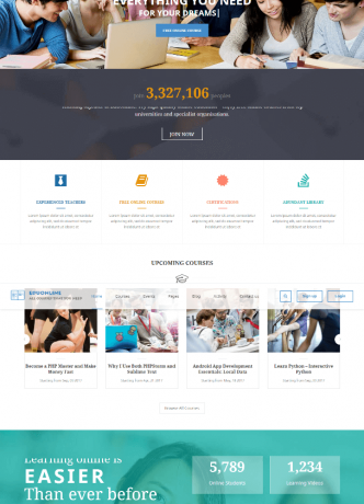 Eduonline – Education University WordPress Theme
