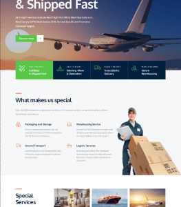 Transportation – Transport WordPress Theme for Transportation Logistics and Shipping Companies