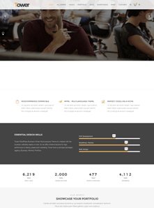 Agency Business Website Theme