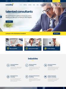 Consulting Bussines Website Theme