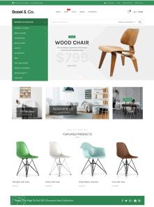 Furniture Store Website Theme