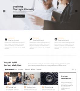 Profesional Corporate Website Theme