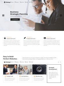 Profesional Corporate Website Theme