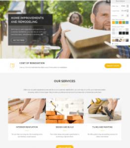 Renovate Construction Website