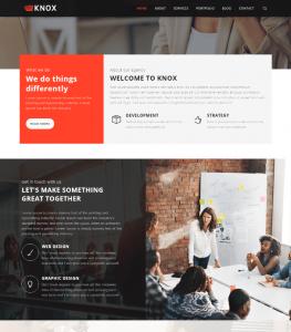 Agency Business Website Theme