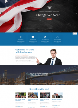 Best Goverment website theme