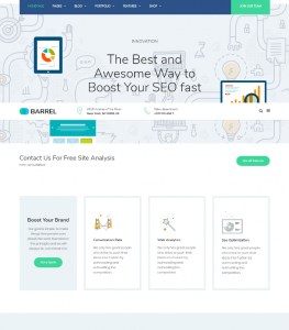 Corporate and Business Website theme