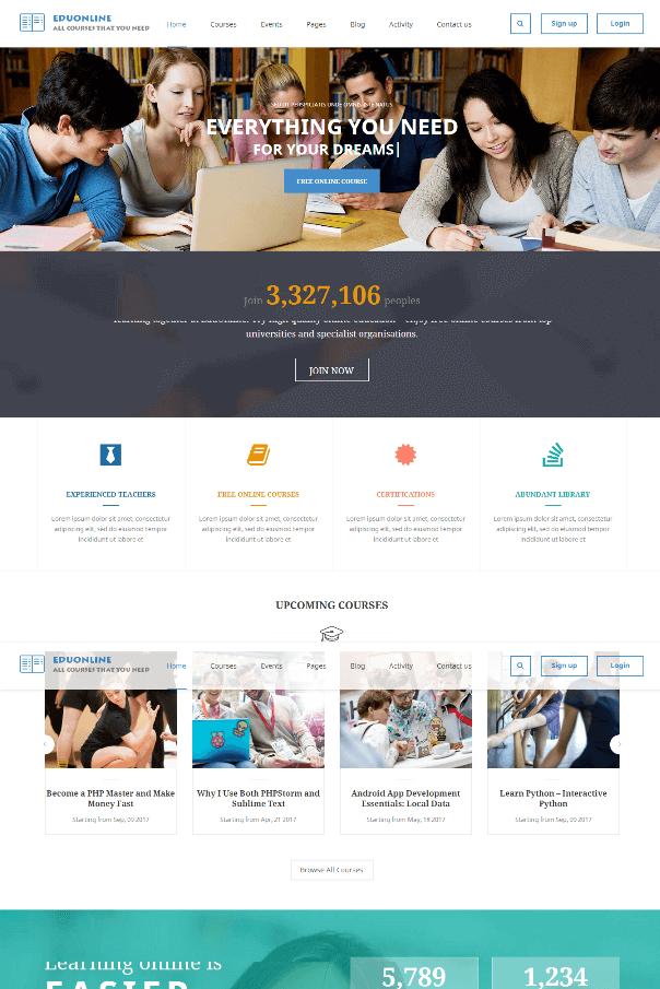Desain Website Sekolah V1
