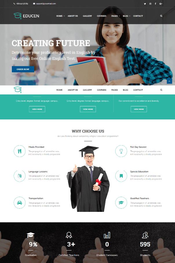 Desain Website Sekolah V2