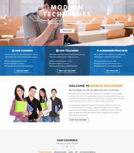 Desain Website Sekolah V3