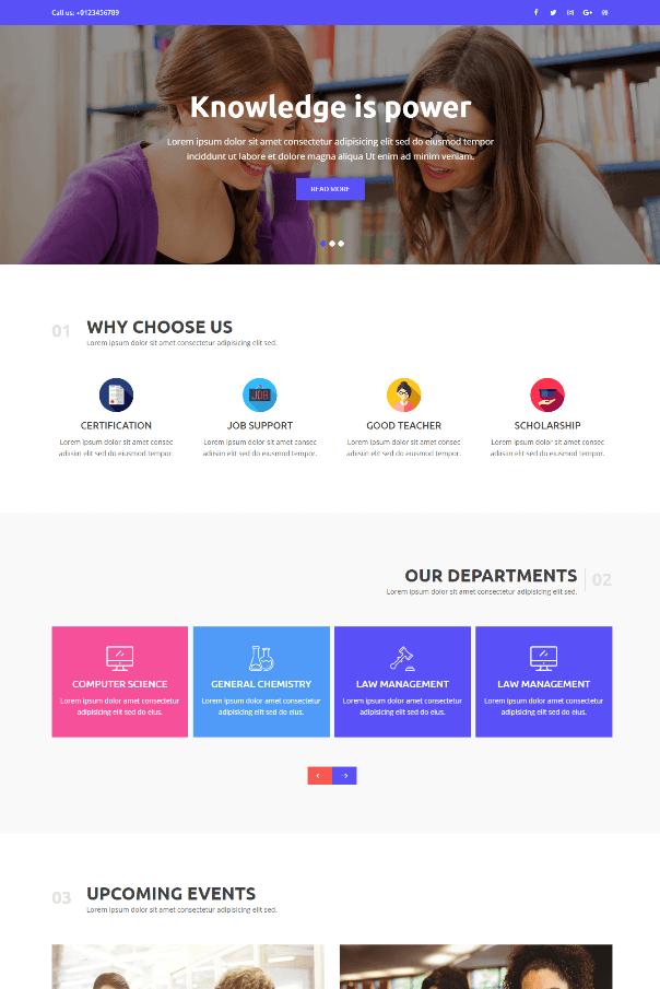 Desain Website Sekolah V4