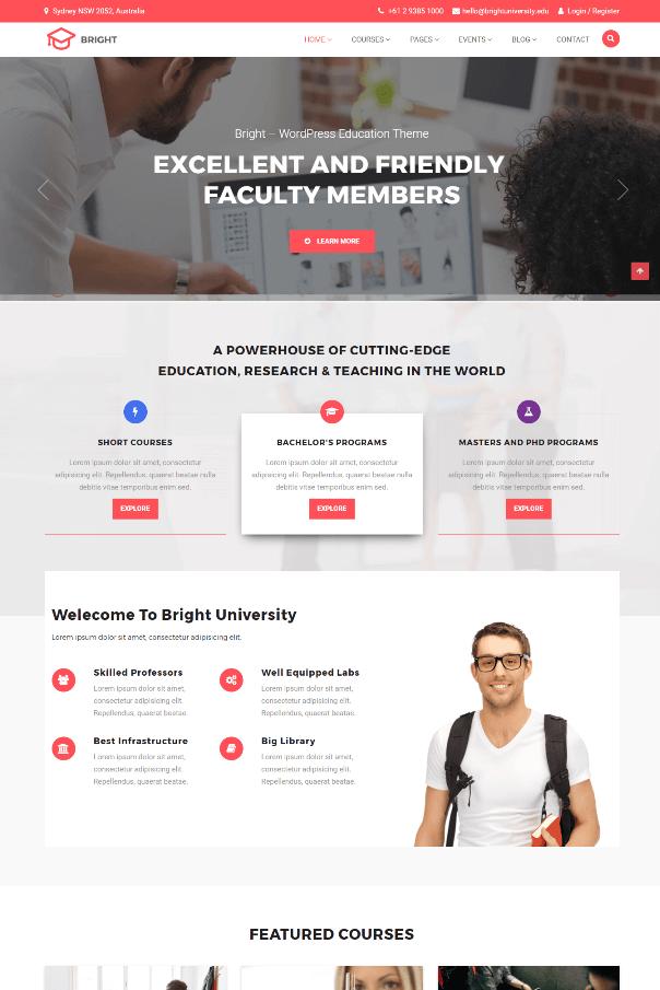 Desain Website Sekolah V5