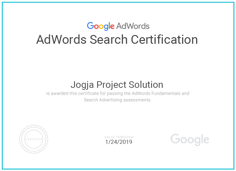 sertifkat adwords 2