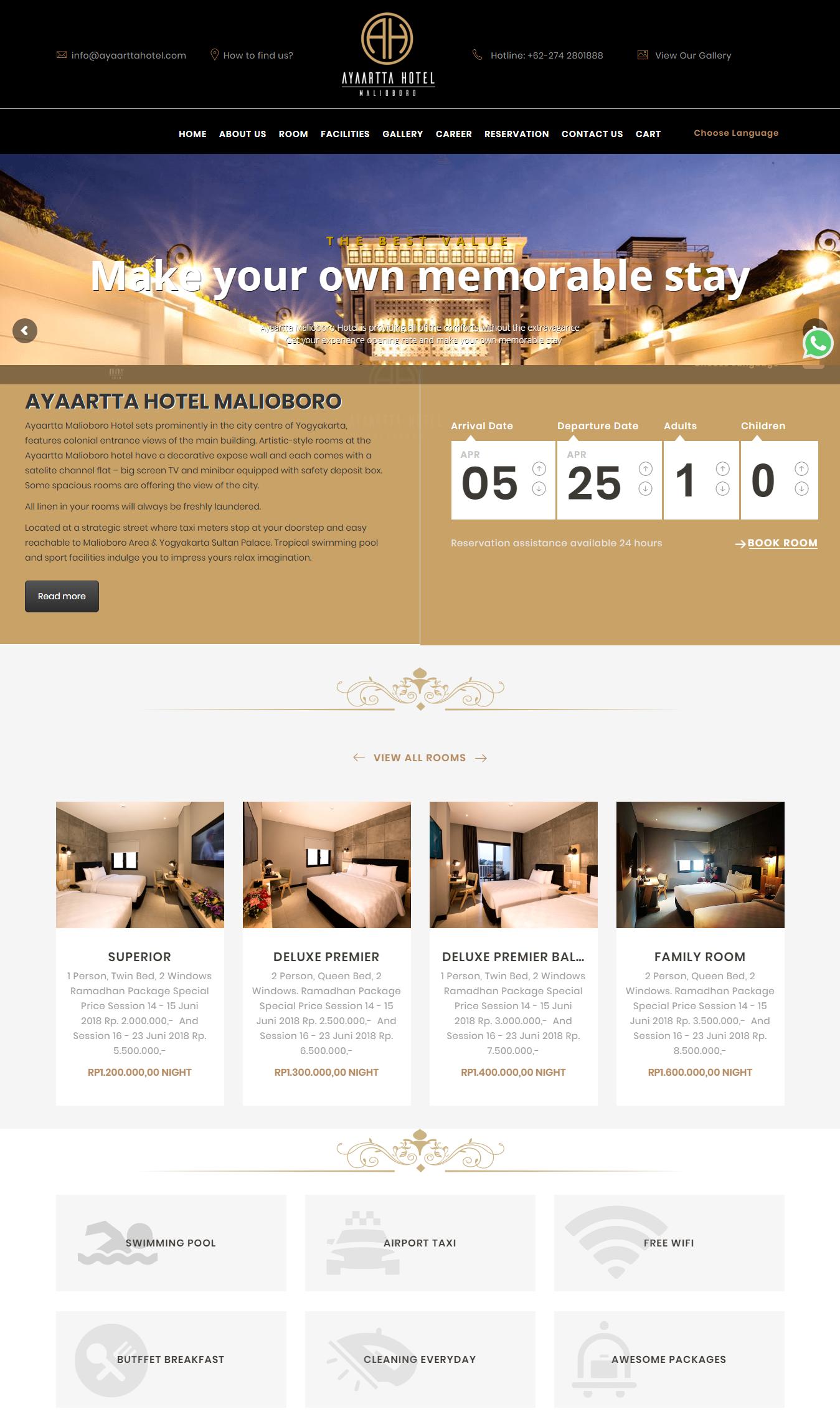 Ayaartta Malioboro Hotel Yogyakarta Feels Like Home