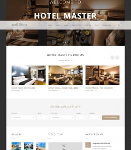 Hotel Master – Room Reservation WordPress Theme